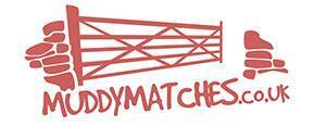 Muddy Matches brand logo for reviews of dating websites and services